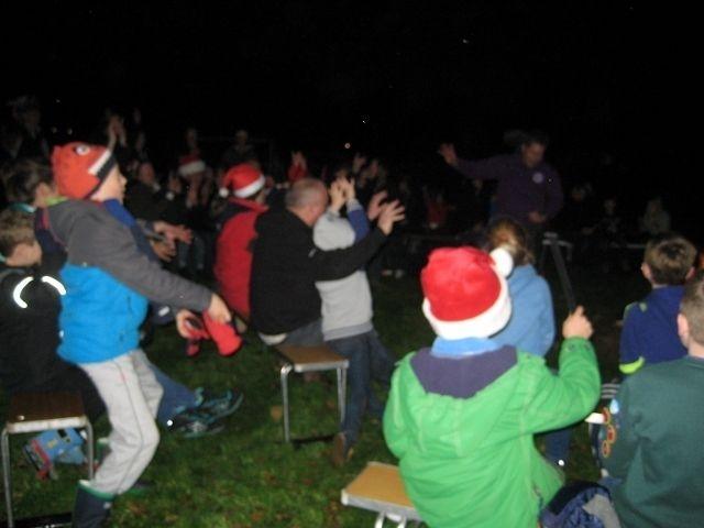 Christmas Campfire Dec 2015